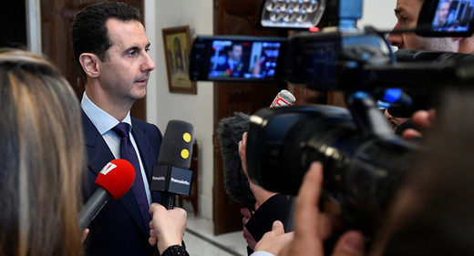 Assad: US blocking investigations in Syria gas attack to maintain lies over false flag