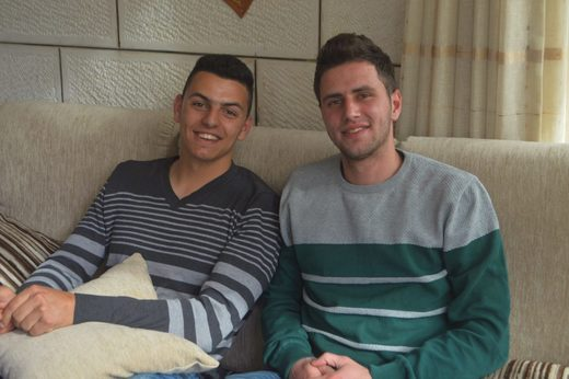 Jawahar Halbiyeh and Adam Jamous