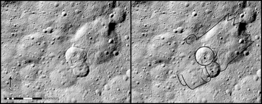 Type II features are the most common of Ceres' landslides