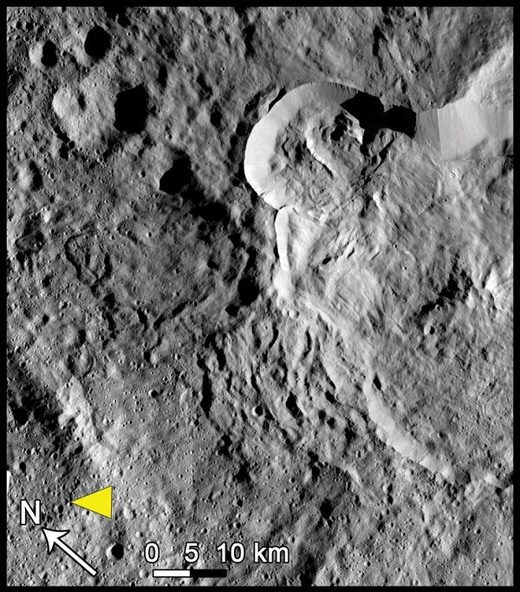 Ceres' Type III features