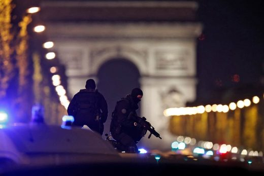 Champs Elysees Attack Paris Terror Attack France