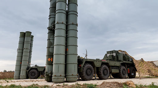 Russia's advanced S-400 surface-to-air missile system