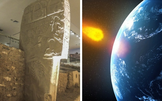 Stone carvings at gobekli tepe in turkey confirm how comet