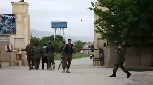 At least 50 dead in Taliban attack on Afghan military base