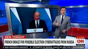 cnn hacking russia france