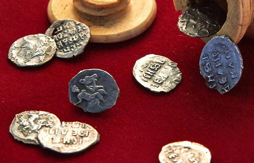 Archaeologists stumble upon 16th century coins stashed in ivory chess figure