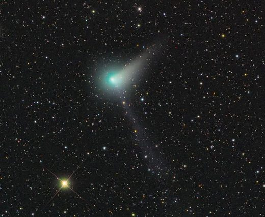 Comet Johnson joins the ranks of visible comets