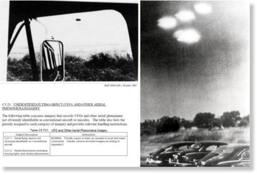 DOD taking pictures of UFO's
