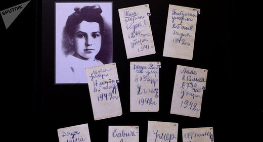The Siege of Leningrad: Last entry in the WWII diary of dying 12-year old Russian girl
