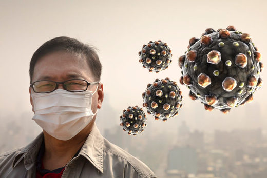 Myth that measles virus is responsible for causing measles infection undermined by Chinese air pollution study