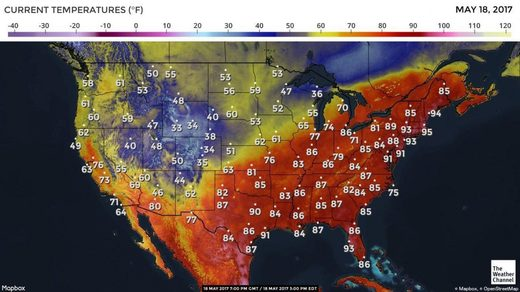 So weird: Northeast US has nation's hottest weather, Boston hits record 95 degrees