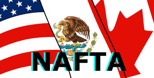 N.A. flags NAFTA