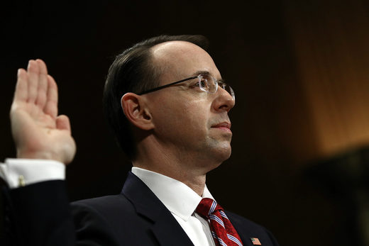 "Rosenstein moves to shut down Congressional ""Russiagate"" probes after appointing Mueller special counsel"