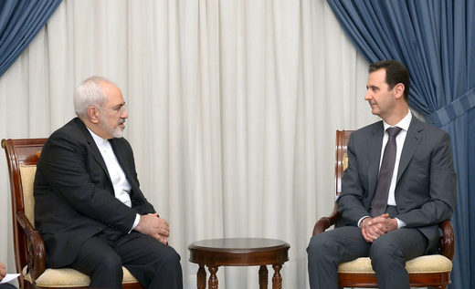 assad and Rouhani