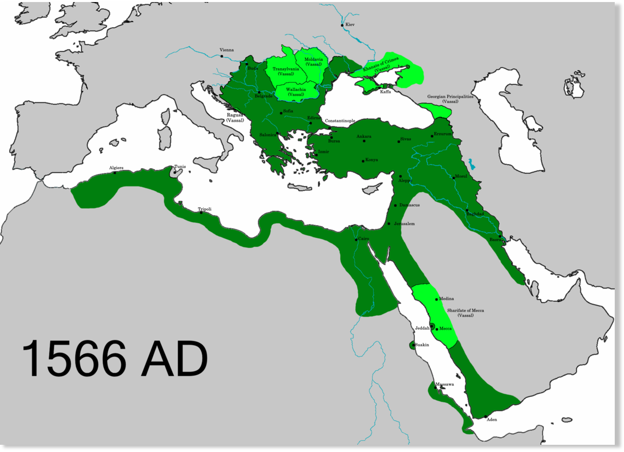 The Ottoman Empire And Ming Dynasty Fell During A Mini Ice
