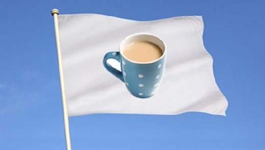 Union Jack to be replaced with a picture of a mug of tea