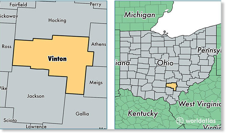 Focus Lee County >> Vinton County, Ohio has its first recorded earthquake ...