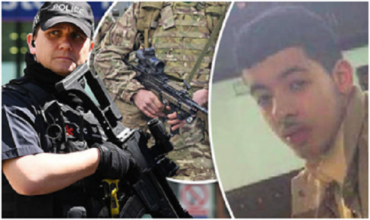 British police and Salman Abedi