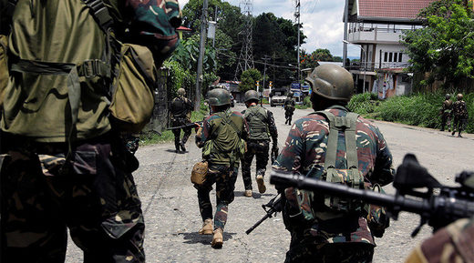Marawi City Philippines soldiers ISIS
