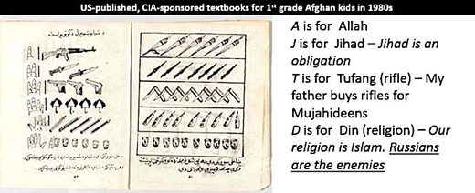 Afghan textbooks