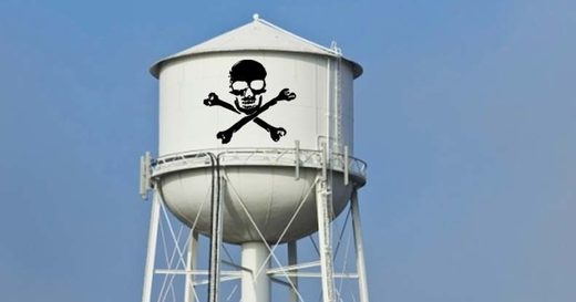 poison water tower