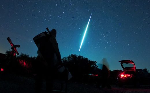 Greek photographer captures meteor fireball over Corfu