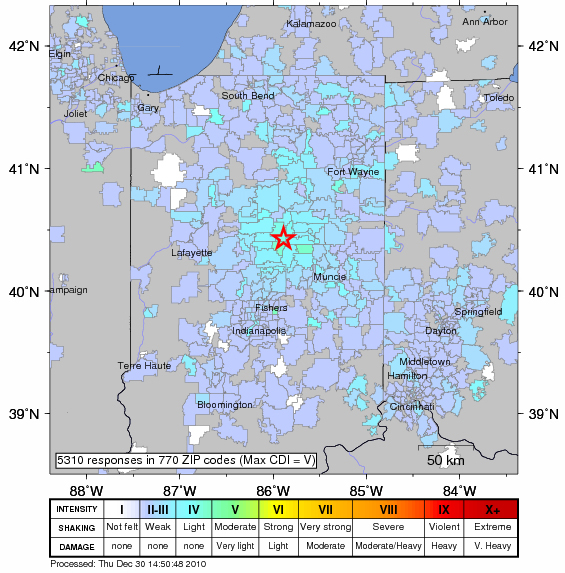 Exceedingly Rare Indiana Earthquake Felt In Chicago