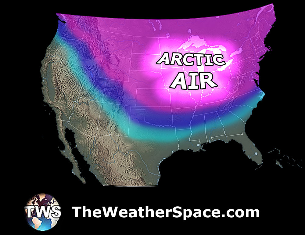 Weatherspace Prediction: Arctic blast will hit Midwest next week, the Northeast a week after