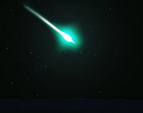 Bright Fireball Seen Over US on April 4th, Nearly 800 Reports from 8 States Green_fireball_in_US