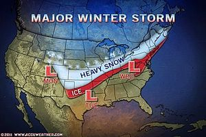 winter forecast 2011 US