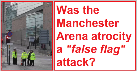 Manchester Arena blast false flag