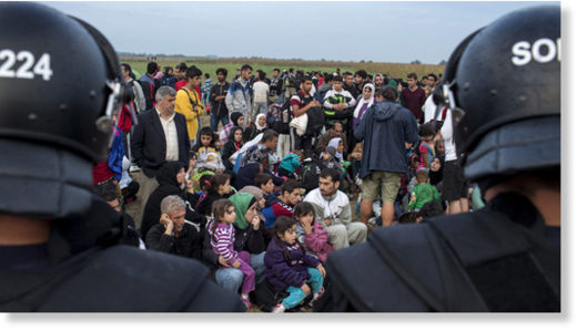 Migrants from Syria