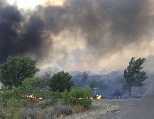 Study: Wildfires in the U.S. Great Plains have more than tripled in 30 years