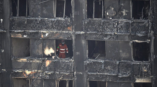 Theresa May admits government response to Grenfell fire 'not good enough'