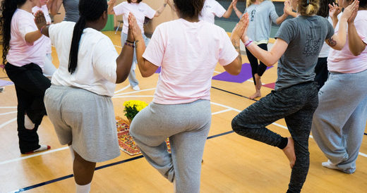 Helping girls heal from trauma with yoga