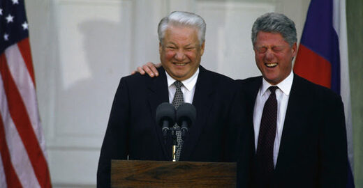 Former Russian President Yeltsin's second term rigged by Clinton - Communist Party won 1996 election