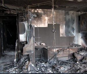 grenfell tower interior damage