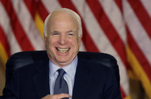 'Say cheese': The McCain Institute for International Leadership is funded by George Soros
