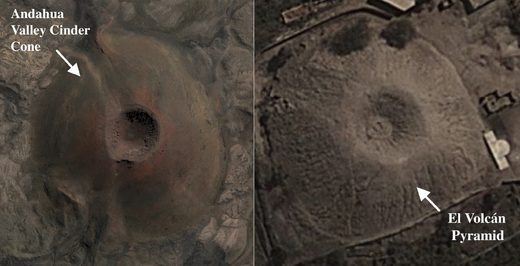 Volcano-shaped pyramid in Peru has experts stumped