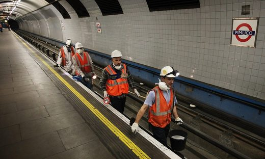 London Underground steps up cleaning to fight superbugs plaguing the tube