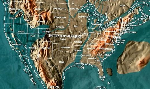 Doomsday Maps Give Clue As To Why So Many Of The Mega Rich Are Becoming Preppers Society S