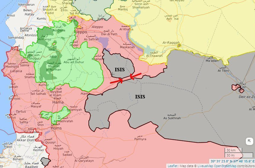 Syria: Three maps show a year of progress -- Puppet Masters -- Sott.net
