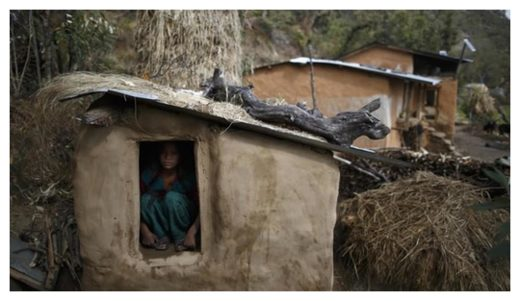 Menstruation hut Nepal