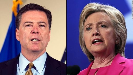 Turns out James Comey had Killary's backup email device the whole time