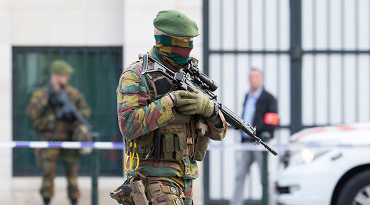 Military police detain axe-wielding man in Belgium - says he was to pose in photoshoot