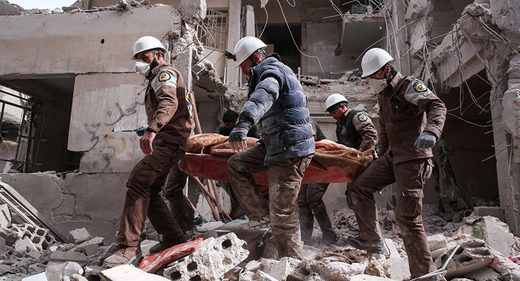 Russian FM Zakharova: White Helmets part of large scale defamation campaign against Syrian government