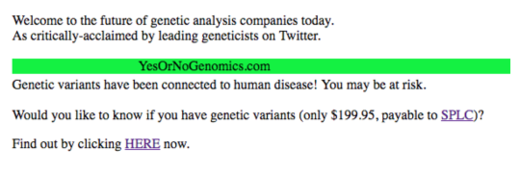 Yes Or No Genomics
