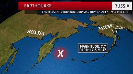 Russia earthquake
