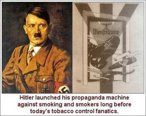Hitler's antismoking veganism