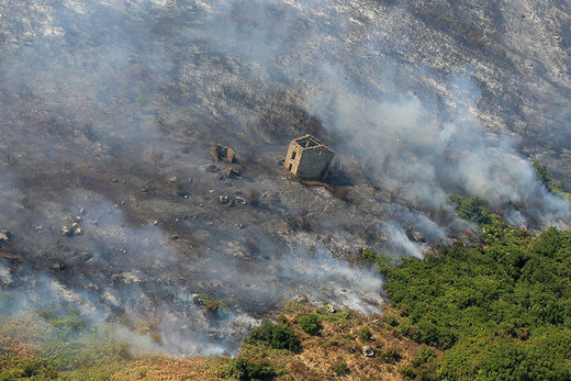 Wildfires Corsica July 2017